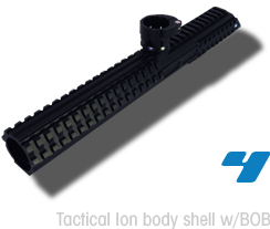 Tactical Ion body shell w/BOB™