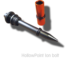 HollowPoint Ion bolt